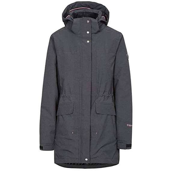 6f06775d0 Trespass Womens/Ladies Reveal Waterproof Breathable Hooded Jacket ...