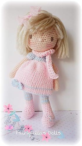 Muñeca JULIA crochet PERSONALIZADA Mariquilla.: Amazon.es ...