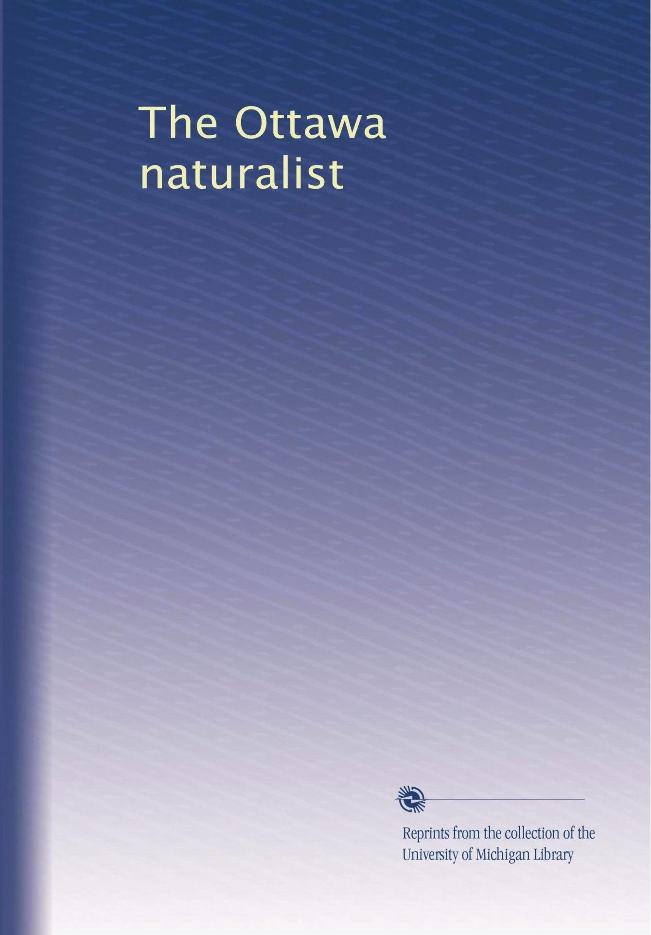 Download The Ottawa naturalist (Volume 22) pdf epub