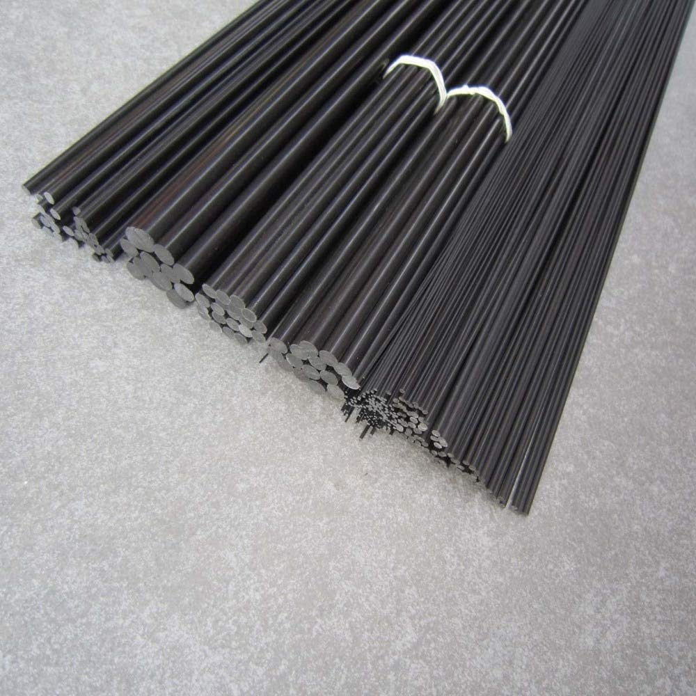Part & Accessories 1.0mm(Dia) 1000mm Carbon Fiber pultrusion Rod/Solid Rod by Jienie