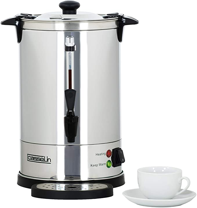 Casselin CPC48 cafetera eléctrica - calentadores de agua (Negro ...