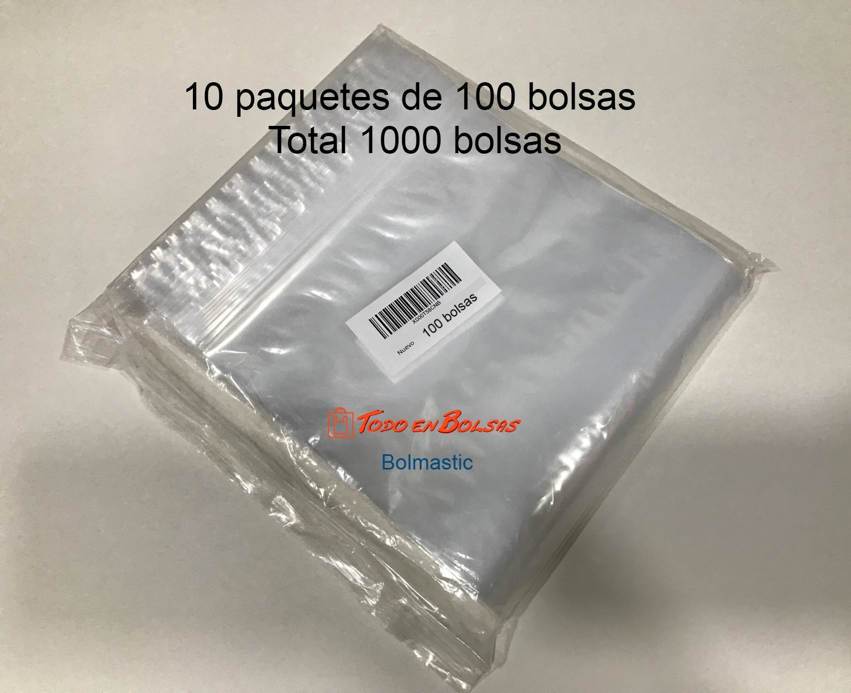Bolsa de plastico autocierre 4 x 6 cm (1000 Unidades)