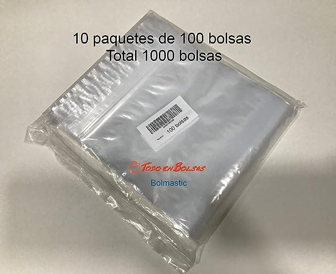 Bolsa de plastico autocierre 7 x 10 cm (100 Unidades)