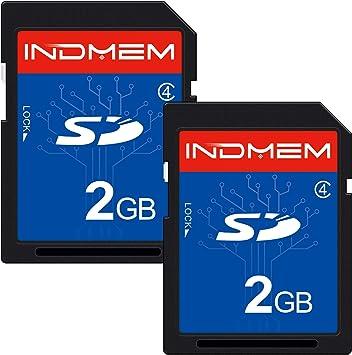 Amazon.com: Tarjeta SD de 2 GB clase 4 Flash tarjeta de ...
