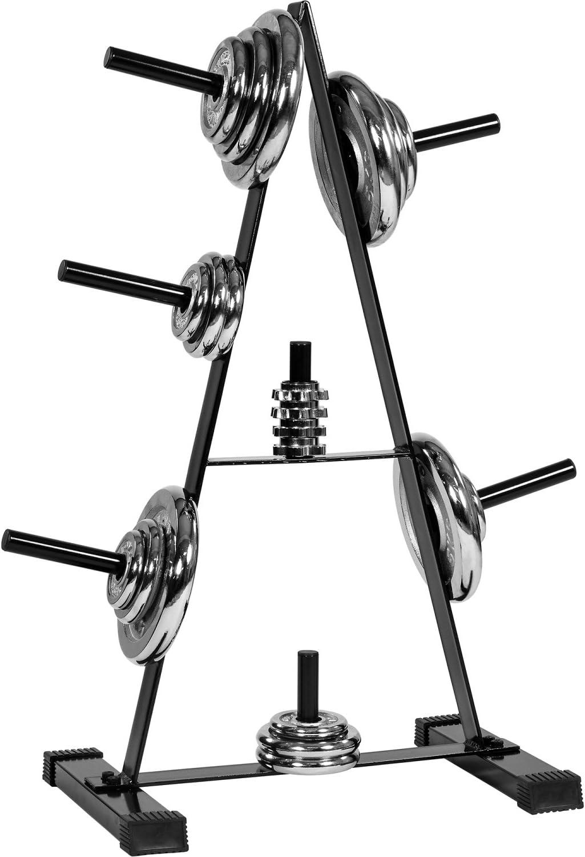 Movit® Hantelscheibenständer Hantelbaum, Scheibenaufnahme: 30mm bei amazon kaufen