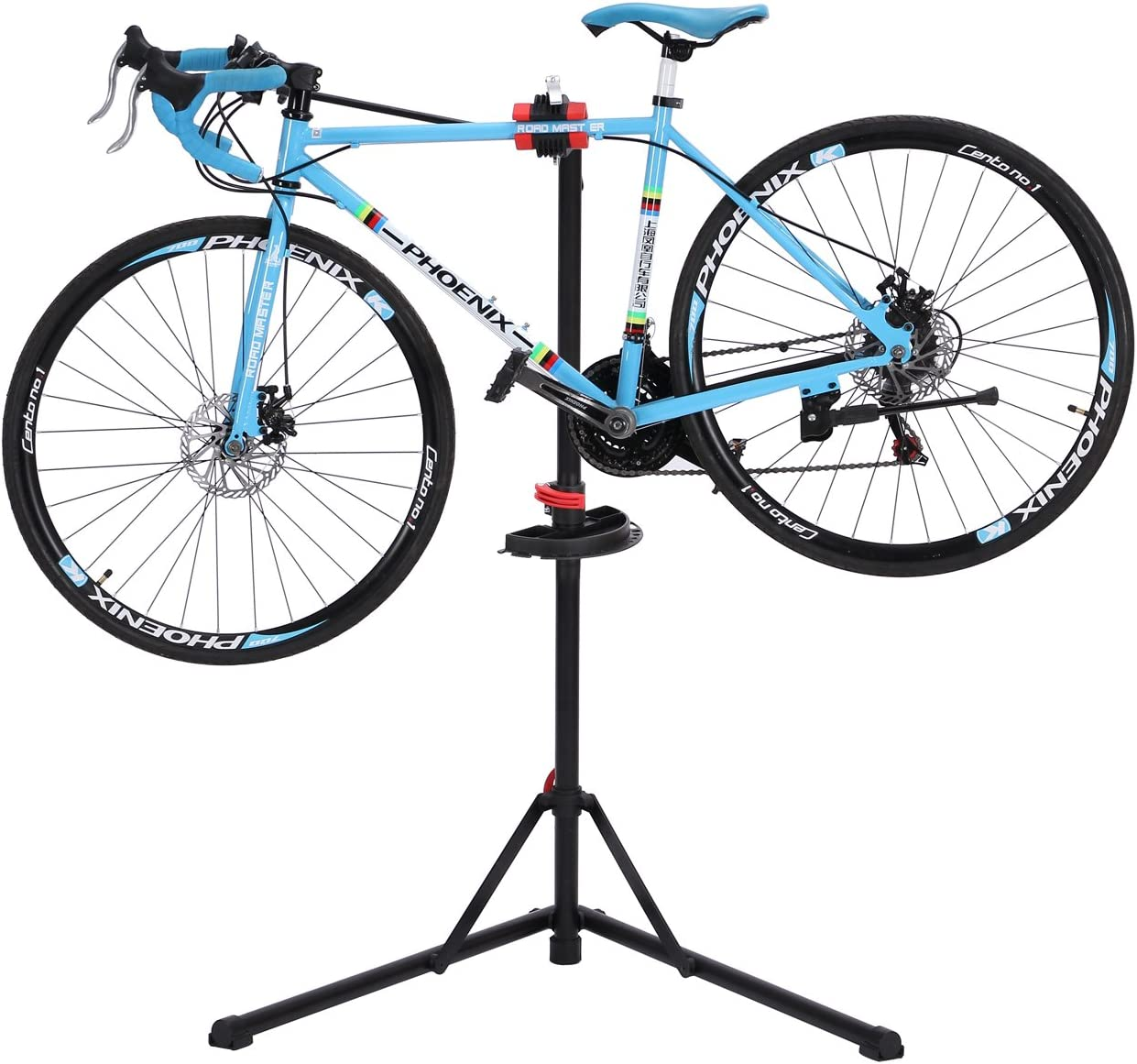 Gharpbik - Soporte para bicicletas con bandeja extensible para ...