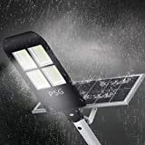 300W Solar Street Lights Outdoor Lamp, 480 LEDs
