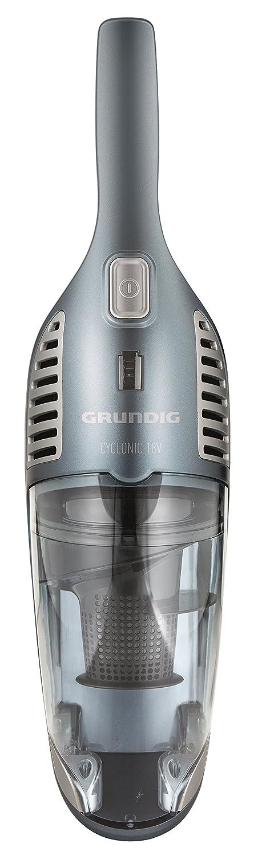 Grundig VCH 9631 0.6L Azul Azul, 0,6 L, Alfombra, Suelo duro, 2,5 m, 2,3 kg Aspiradora escoba