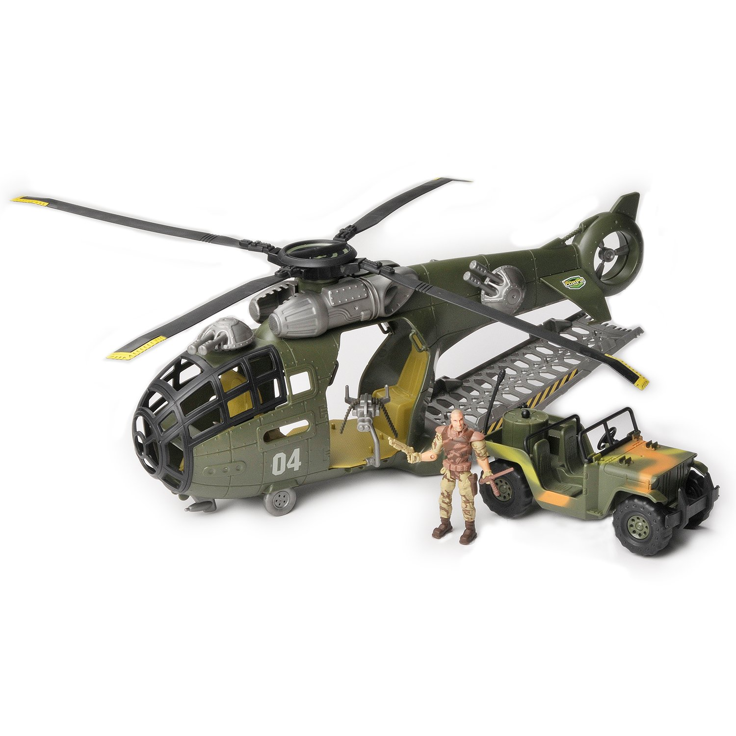 Amazon The Corps Total Sol r Flying Fortress Transport