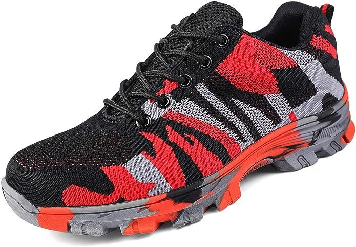 Image ofUcayali Zapatos de Seguridad con Punta de Acero para Hombre Mujer - Cómodos Ligeros y Transpirables, Talla 39-48