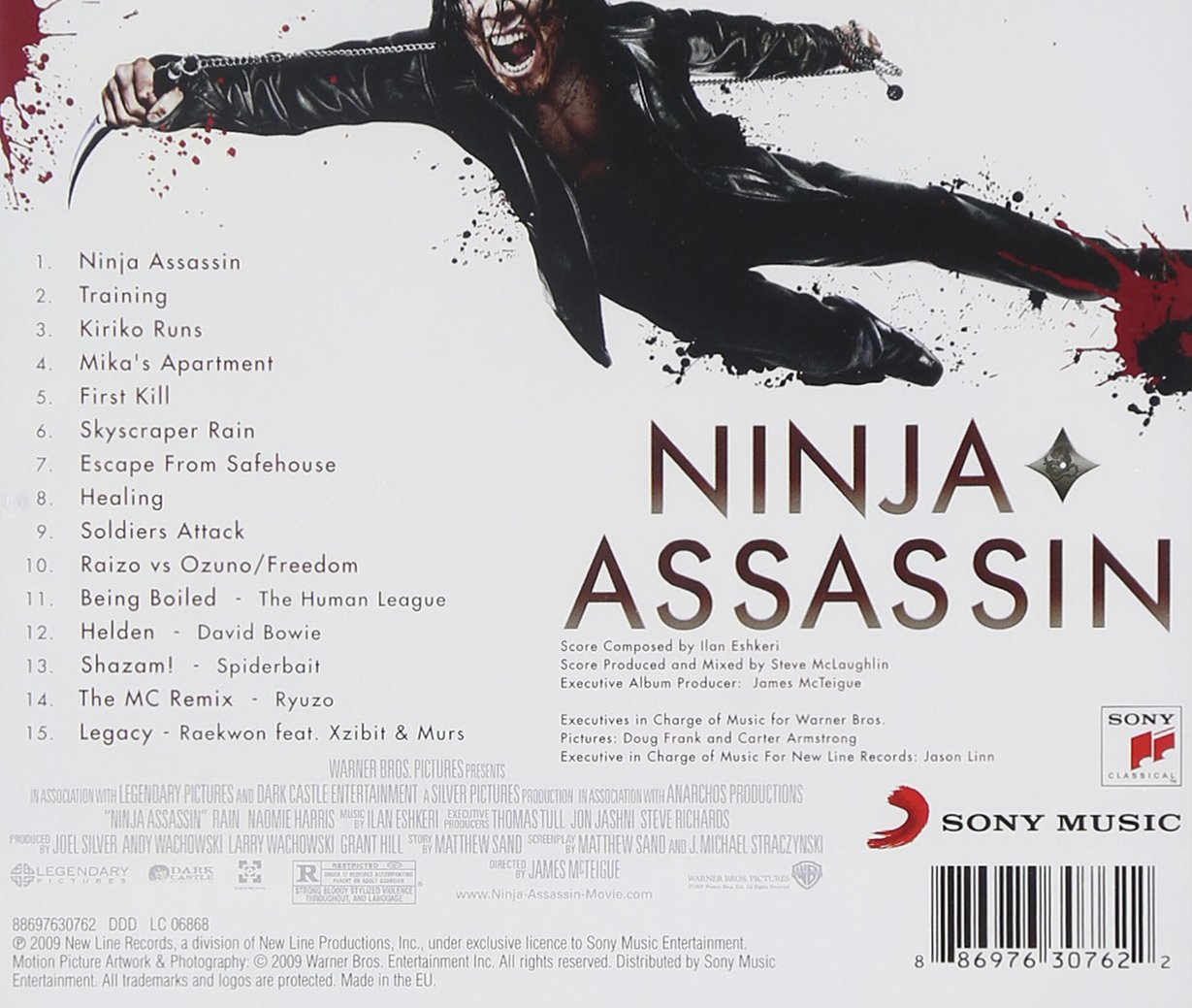 Ninja Assassin: Various, Ilan Eshkeri: Amazon.es: Música