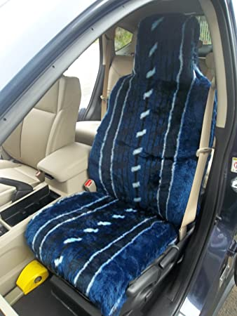 Fabulous Citroen C1 Series Car Seat Covers In Navy Blue Stripe Fur Theyellowbook Wood Chair Design Ideas Theyellowbookinfo
