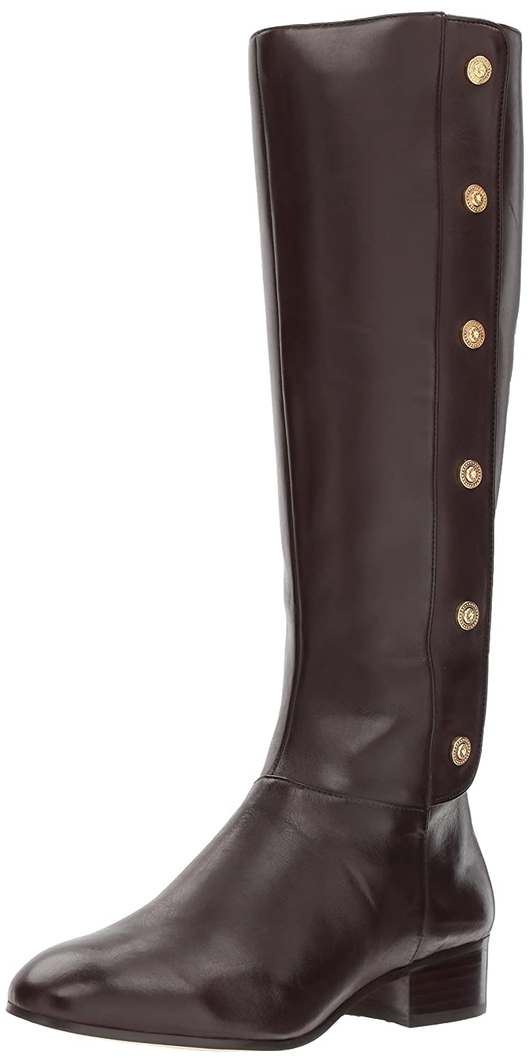 Nine West Women's Oreyan Knee High Boot B01MUX448E 11 B(M) US|Dark Brown