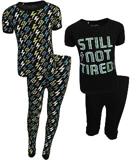 Freestyle Boys 4-Piece Snug Fit Spring Pajama Set