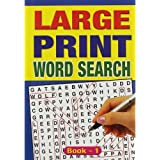 WF Graham Large Print Wordsearch - Assorted