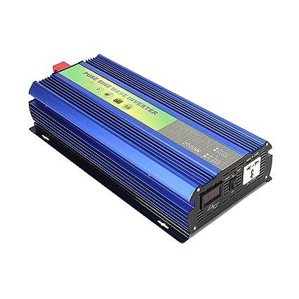 B2KEY® 3000w DC 12V / 24V / 48V a AC 220V Inversor de Onda ...