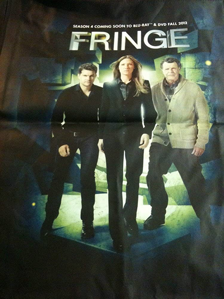 Comic Con 2012 Fringe Tote Swag Bag