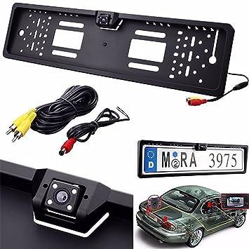 Einparkhilfe Kennzeichen Nummernschild Rückfahrkamera  DE