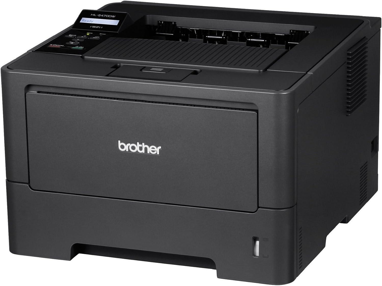 Brother Printer HL5470DW Wireless Monochrome Printer, Amazon Dash Replenishment Ready