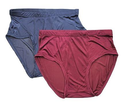 57deae6f2f LSHARON Silk Men s 100% Mulberry Silk Lingerie Underwear Briefs  Amazon.co. uk  Clothing