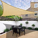 Small Triangle Sail Sun Shade Amazon Co Uk Garden Outdoors