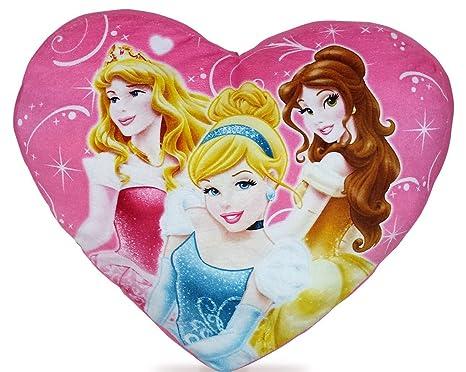 Disney Princesas Cojín en forma de corazón Princesa Manta ...