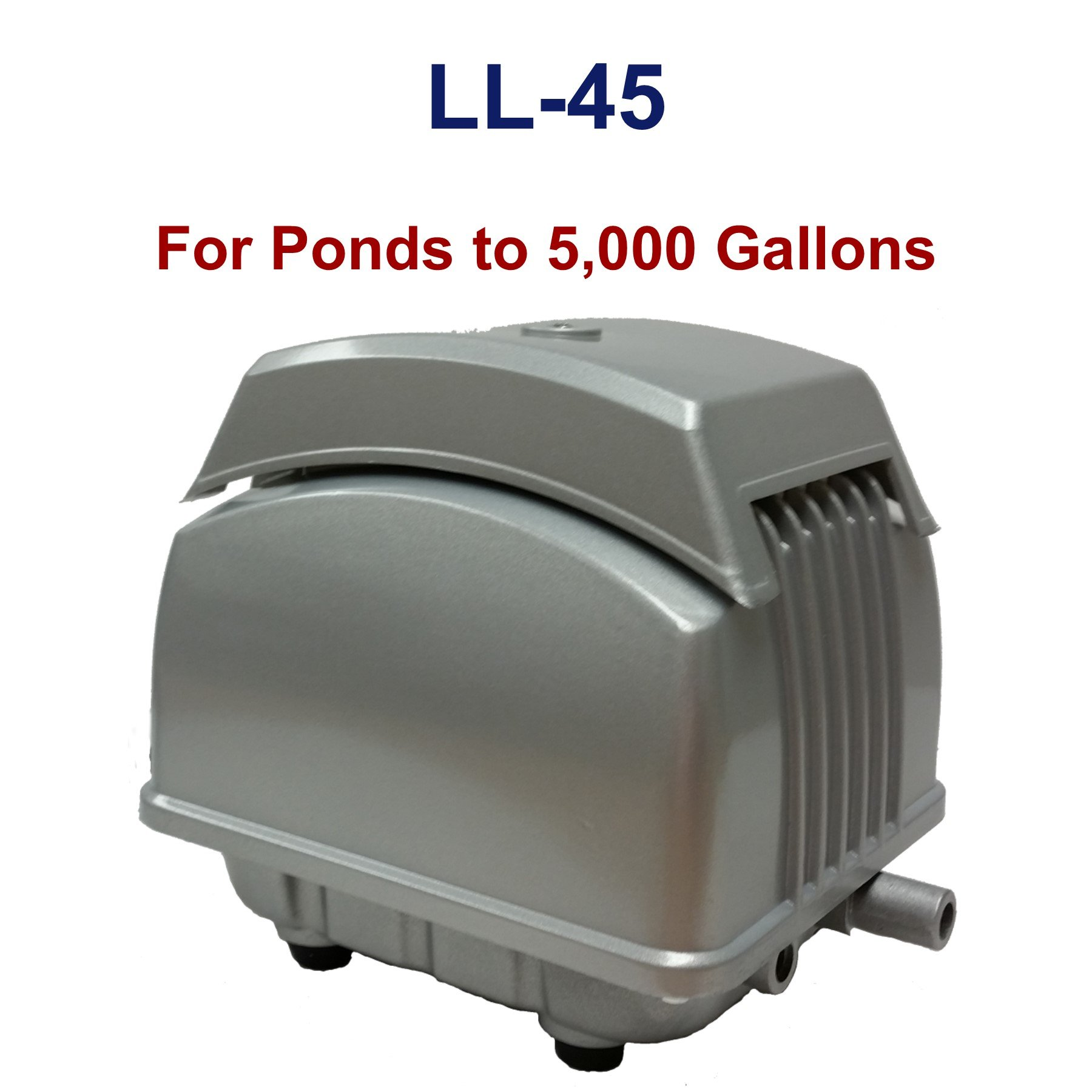 Patriot Air Pump LL-45, 1.8 Cubic Feet Per Minute, Pond Depth To 15 Feet by Patriot