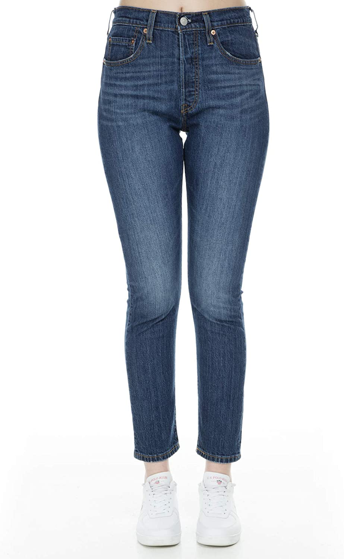 Levis 501 Skinny Womens Jeans Neat Freak