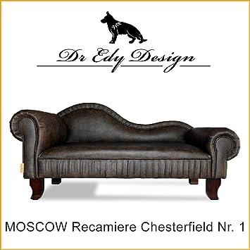 Dr EDY Diseño Perros sofá Chesterfield - Sofá Moscow XXL nº 1. cama para perros chaise Longues: Amazon.es: Productos para mascotas