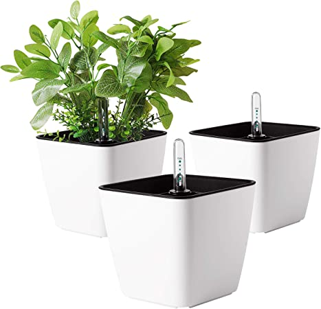 T4U 5.5 Inch self watering Plastic Planter product image