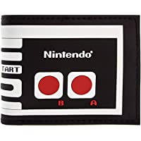 Cartera de Nintendo NES controlador retro Negro