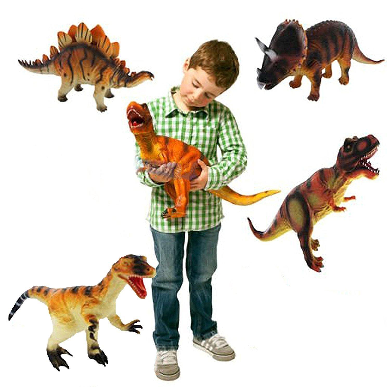 Grandes Dinosaurios surtidos * 6 * Plásticas Animales para niños Figuras de juguete [Toy] MTS