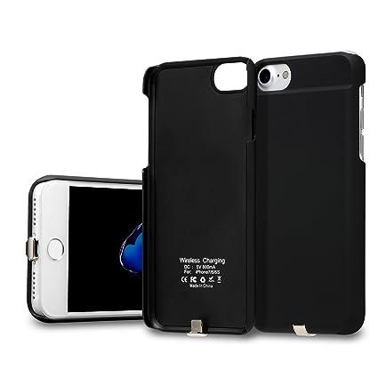 GMYLE Cargador inalámbrico Incorporado en la Funda iPhone 7 Receptor de Carga inalámbrico Qi para Apple iPhone 7