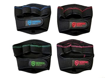 Sedroc Sports Weight Lifting Grip Pads Hand Gloves Workout Training