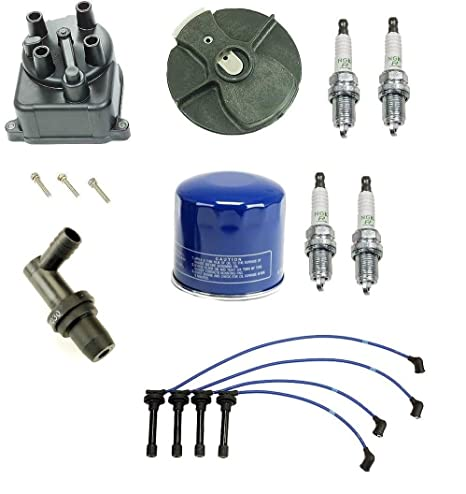 Tune Up Kit Filtro Cap Rotor Cables y bujías NGK Honda Civic DX LX 1,