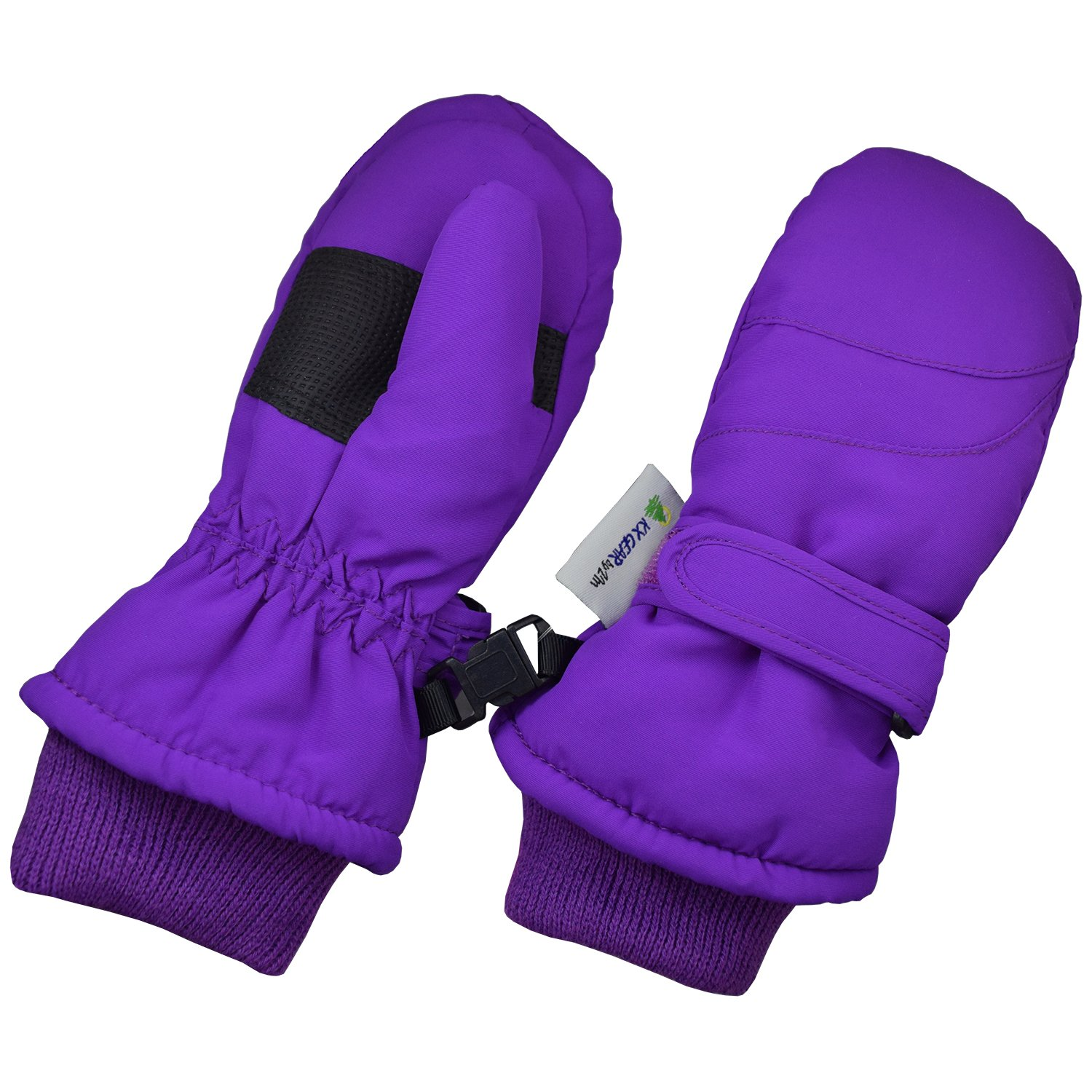 Winter Waterproof Gloves Children Toddlers and Baby Mittens Made With Thinsulate,and Fleece KX GEAR by Zelda Matilda