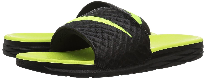 e77dfbefedad Nike Men s Benassi Solarsoft Slide Sandal