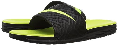 Nike Benassi Badelatschen Solarsoft Schwarz F070 Größe 47,5