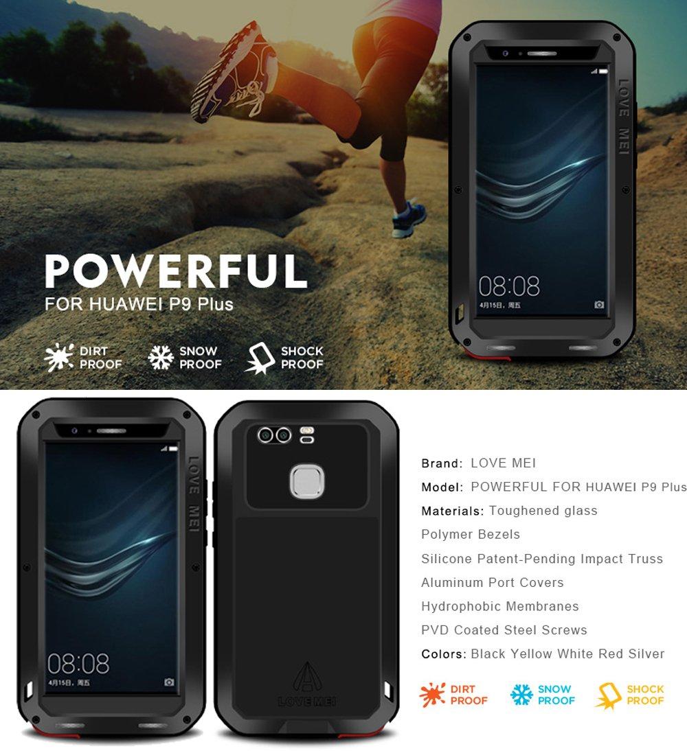 Funda Love Mei para Huawei P9 Plus P9 + (5,5 pulgadas), impermeable ...