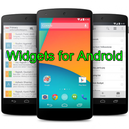 Widgets for Android (Widgets Toy)