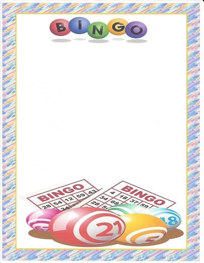 Bingo Stationery Printer Paper 26 Sheets