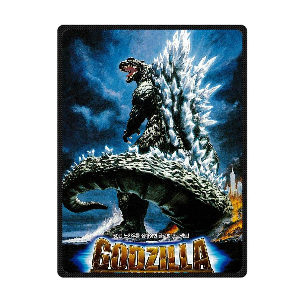 Custom Awesome Godzilla Bed/Sofa Soft Throw Fleece Blanket 58x80 FashionHouse Other case