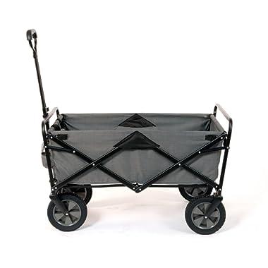 MAC S P O R T S B078WZC1MR Sports Folding Garden Utility Wagon, Textured Gray