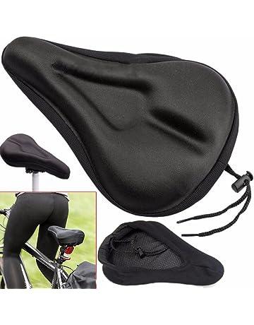 Vélo Extra Comfort Cycle Gel Pad Housse de Coussin pour siège de selle confortable UK
