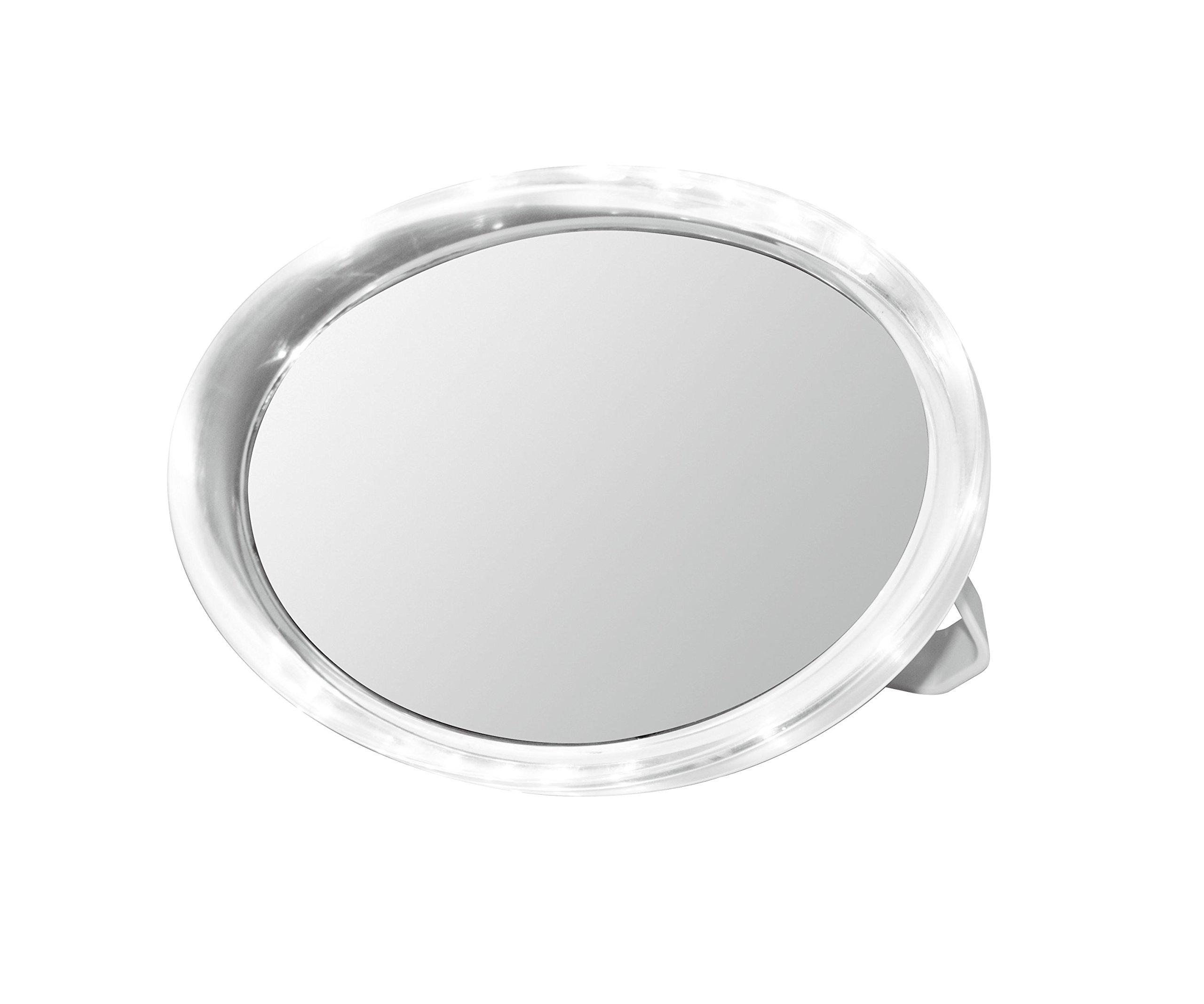 Volere Spa Illuminated Travel Mirror 5x Magnification