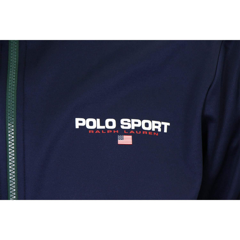 Sudadera Polo Sport Track Azul Hombre: Amazon.es: Ropa y accesorios