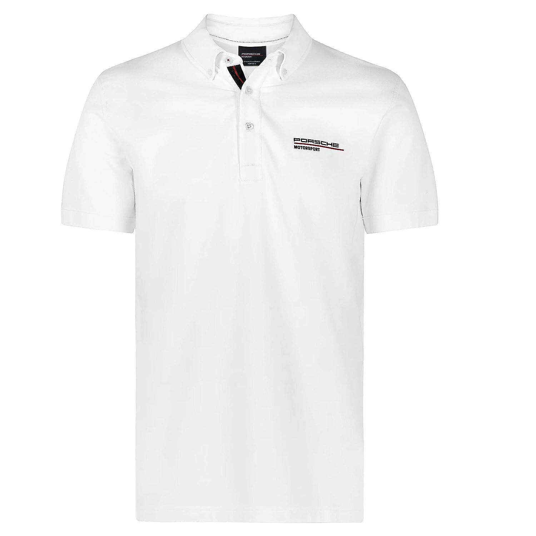 Porsche Motorsport Mens White Polo