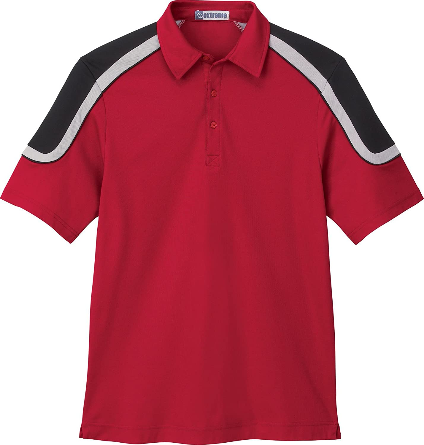 Extreme - Polo - para hombre Rojo CLASSIC RED 850 Medium: Amazon ...