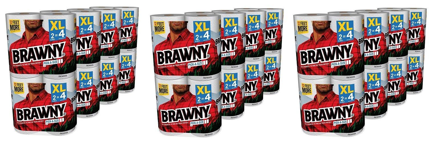 Brawny Pick-a-Size Paper Towels rkjSBB, 3Pack (16 X-Large)