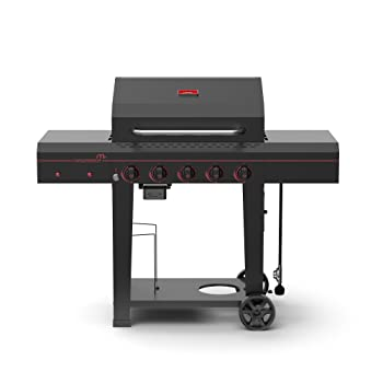 MEGAMASTER 6-Burner 656sq. in Gas Grill